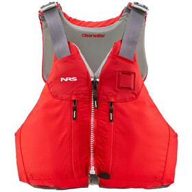 NRS Clearwater Mesh Back PFD, red
